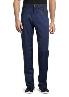 Versace Two-Tone Regular-Fit Jeans