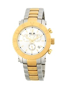 Versace Two-Tone Stainless Steel Chronograph Watch
