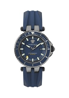 Versace V-Race IP Stainless Steel Diver Watch