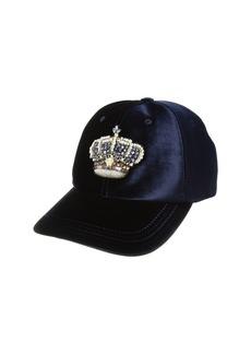Versace Velvet Crown Cap
