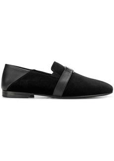 Versace velvet loafers
