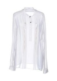VERSACE - Solid color shirts & blouses