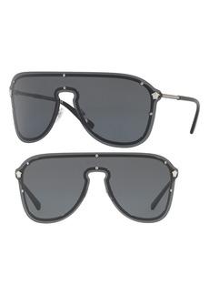 Versace 144mm Shield Sunglasses