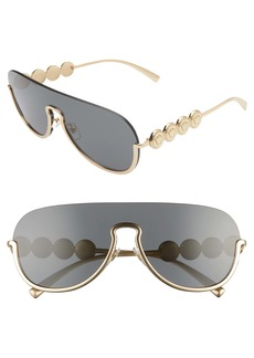 Versace 138mm Pilot Shield Sunglasses