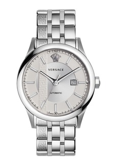 Versace 44mm Aiakos Men's Automatic Watch with Bracelet