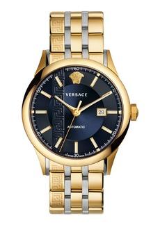 Versace 44mm Aiakos Men's Automatic Watch with Bracelet