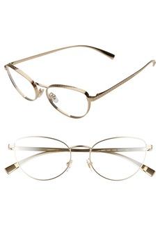 Versace 52mm Cat Eye Optical Glasses