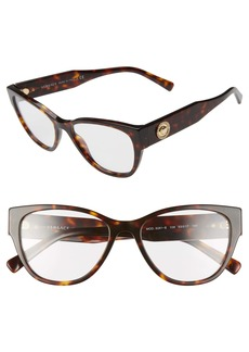 Versace 53mm Cat Eye Optical Glasses