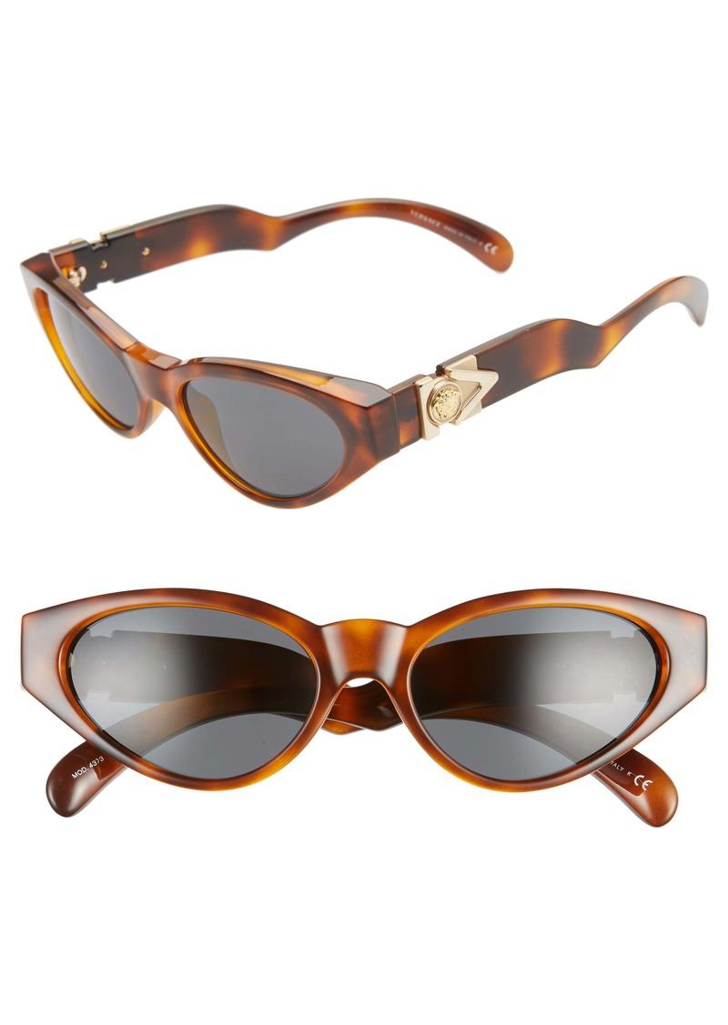 Versace 54mm Cat Eye Sunglasses