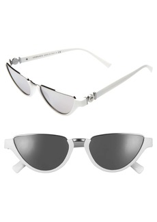 Versace 54mm Half Moon Sunglasses