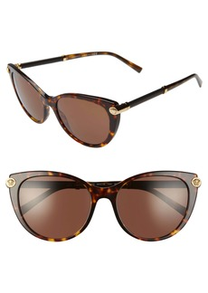 Versace 55mm Cat Eye Sunglasses
