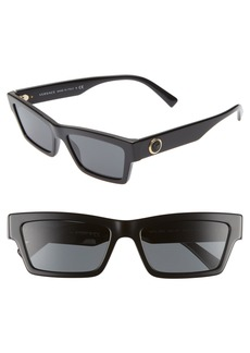 Versace 55mm The Clans Cat Eye Sunglasses
