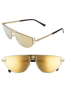 Versace 57mm Flat Top Sunglasses