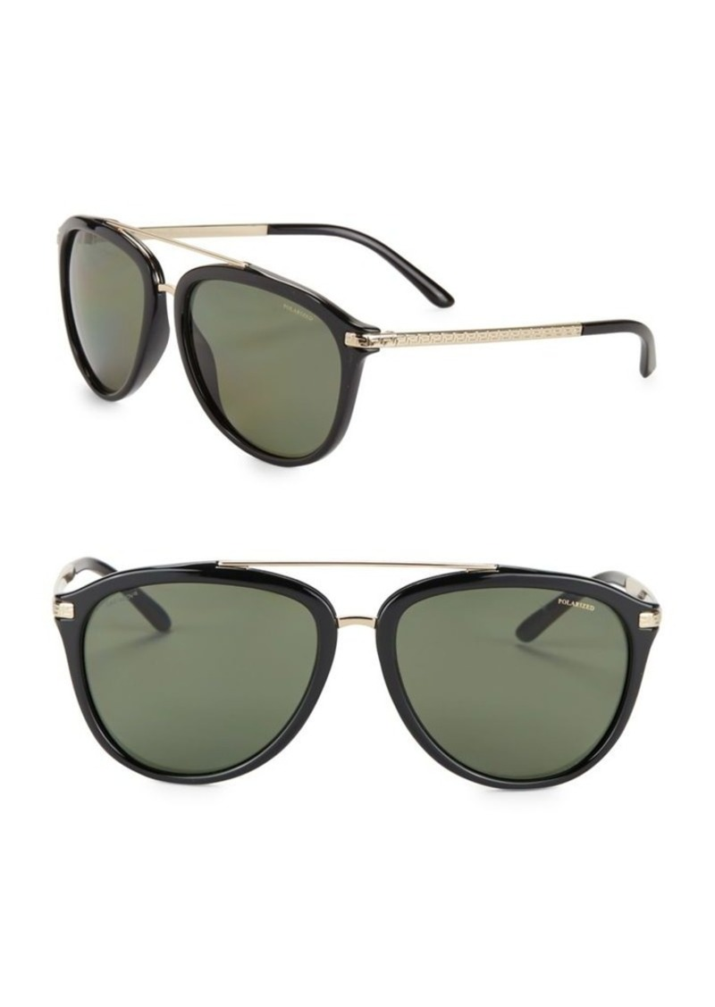 55322d94e1 Versace Versace 58MM Aviator Sunglasses