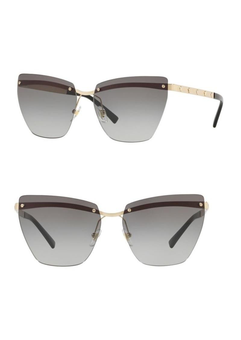 e601eb3dbff1 On Sale today! Versace Versace 58MM Irregular Rimless Sunglasses