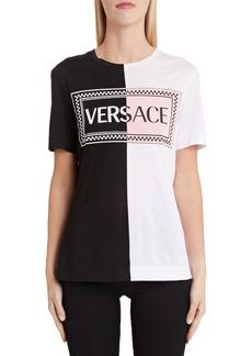 Versace '90s Logo Colorblock Tee