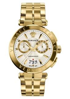 Versace Aion Chronograph Bracelet Watch, 45mm