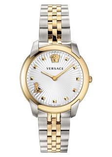Versace Audrey V Bracelet Watch, 38mm