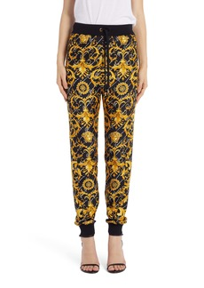 Versace Barcocco Signature Print Joggers