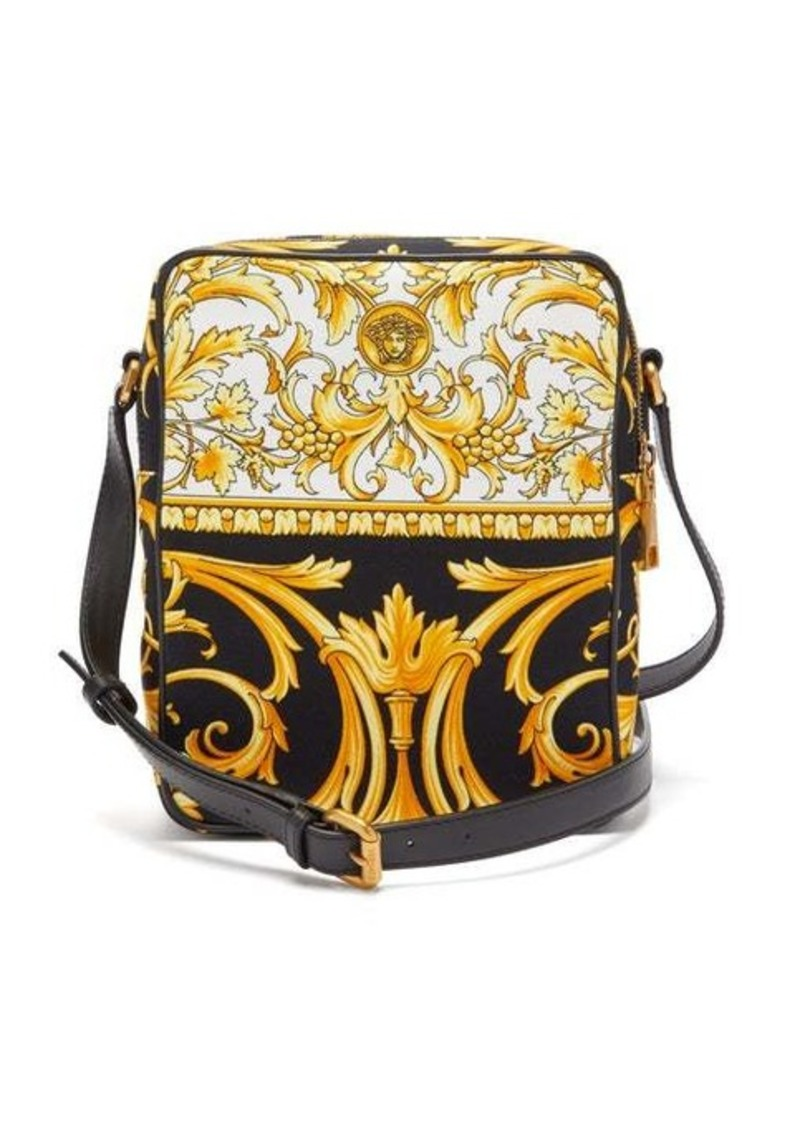 Versace Barocco-print canvas cross-body bag