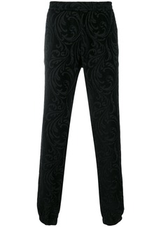 Versace Barocco texture trousers