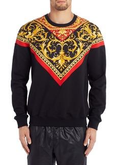 Versace Baroque Crewneck Sweatshirt