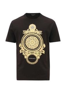 Versace Baroque mirror-print cotton T-shirt