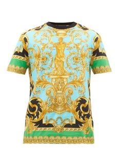 Versace Baroque-print cotton T-shirt