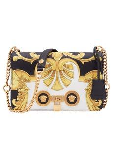 Versace Baroque Print Medium Icon Leather Crossbody Bag