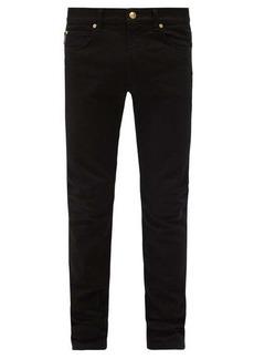 Versace Baroque-print skinny-leg jeans