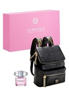 Versace Bright Crystal Eau De Toilette & Backpack Set (USD $149 Value)