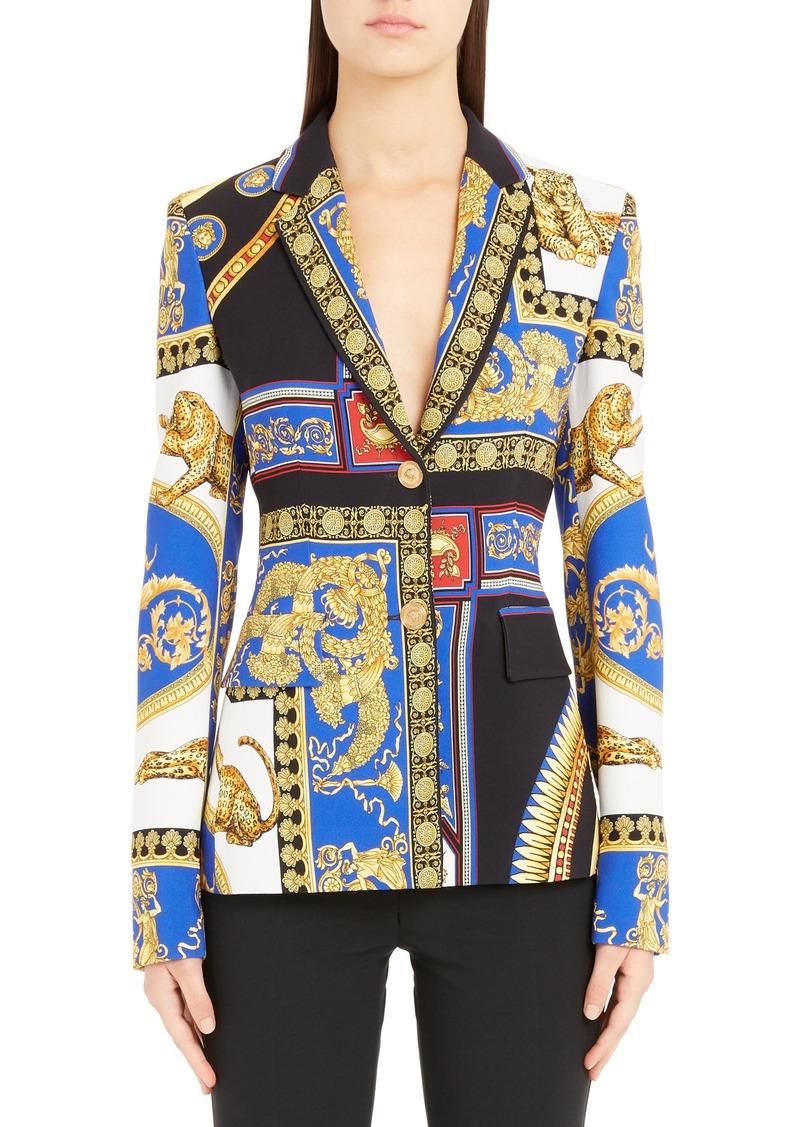 Versace Casa Print Blazer