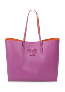 Versace Casual Leather Tote