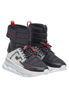 Versace Chain Reaction High Top Sneaker (Men)