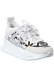 Versace Chain Reaction Leather Sneaker