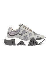 VERSACE Chain Reaction Sneaker in Grey