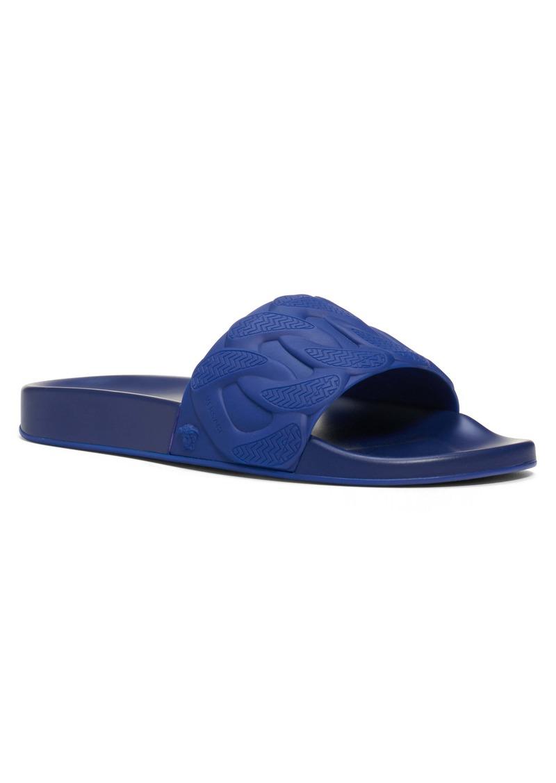 Versace Chain Slide Sandal (Men)