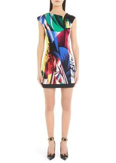 Versace Clash Print Dress