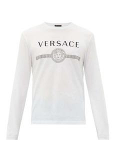 Versace Classic logo-print cotton T-shirt
