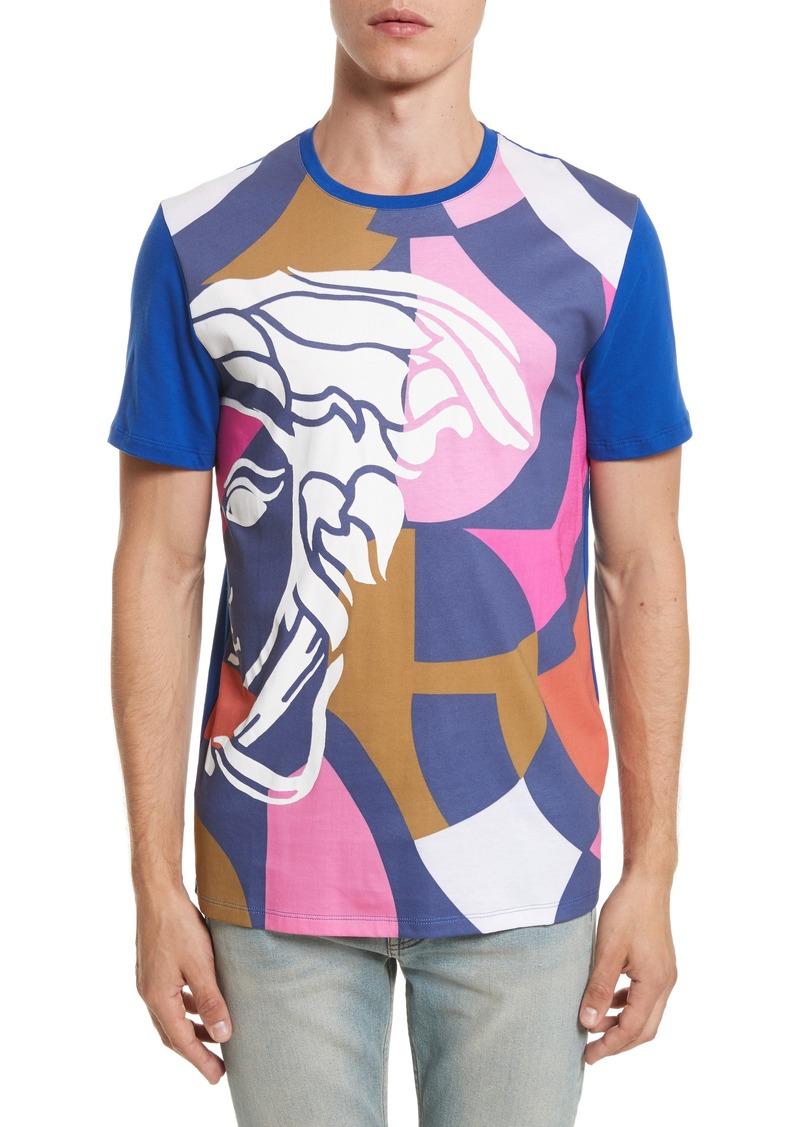 ff6c0c20 Collection Abstract Medusa Print T-Shirt