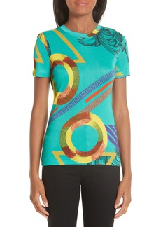 Versace Collection Abstract Print Tee