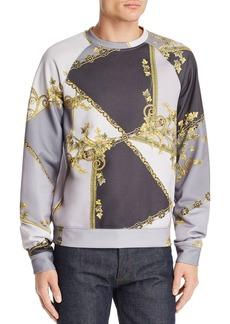 Versace Collection Barocco Color-Block Sweatshirt