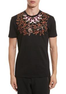 Versace Collection Baroque Foil Print T-Shirt