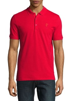 Versace Collection Buttoned Cotton Polo