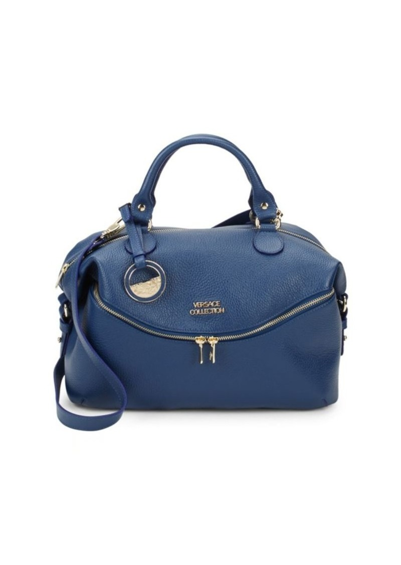Versace Classic Leather Top Handle Bag  77425662bff74