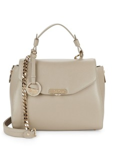Versace Collection Classic Leather Top Handle Bag