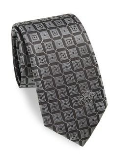 Versace Collection Connected Italian Silk Boxed Tie