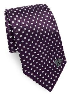 Versace Dot Silk Tie
