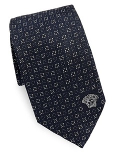 Versace Collection Dotted Silk Tie