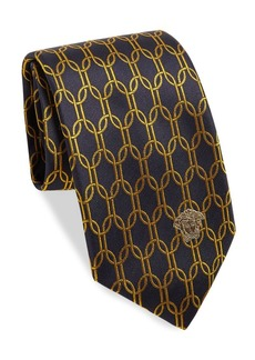 Versace Collection Embroidered Silk Boxed Tie